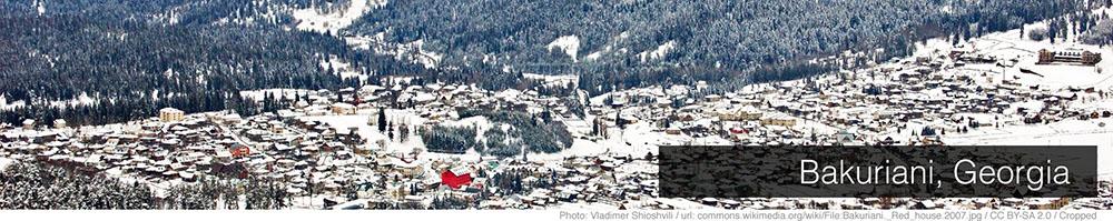 Bakuriani Weather December Ski Resorts Bakuriani Beginning Of The Season
